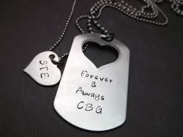 customized dog tag necklaces handsted necklace personalized necklace dog tag necklace heart