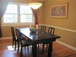 dining room chair how to paint your dining room table black