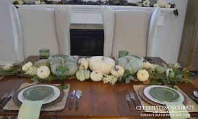 simple thanksgiving thanksgiving table in green u0026 white celebrate u0026 decorate