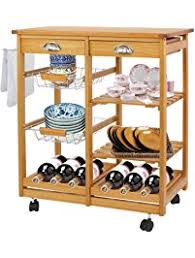 rolling island for kitchen kitchen islands carts amazon com