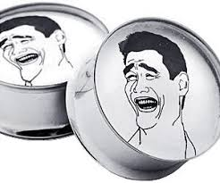 Jao Ming Meme - yao ming meme ear plugs buy this bling