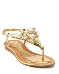 kate spade new york sandals imani flat embellished bloomingdale u0027s