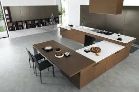 mouvement cuisine interieur de la maison blanche cuisine avec ilot central pour manger
