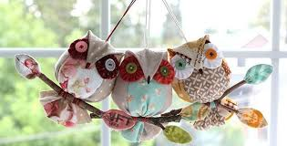 owl ornaments easy owl ornaments for christmas or all year quilting digest