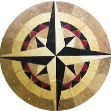 nautical floor tile medallions tiles flooring