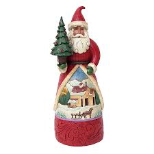 shop jim shore santa indoor decoration at lowes