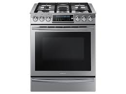 Gas Stainless Steel Cooktop 5 8 Cu Ft Slide In Gas Range With True Convection Ranges