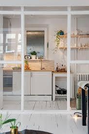 separation verriere cuisine une cuisine ouverte avec une verrière de séparation