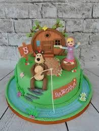 masha bear cake alessandra medved