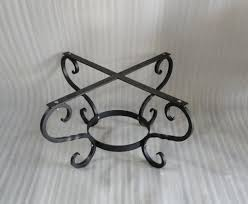 Iron Table Base Tulip Design Wrought Iron Table Base Handmade For Coffee Tables