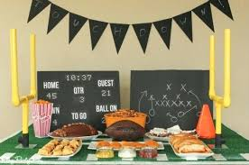 football decorations football decorating ideas best football party table decorations