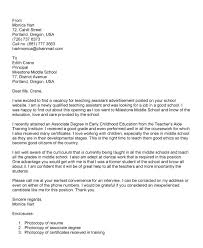 beautiful special education assistant cover letter 52 on structure