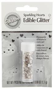amazon com wilton edible glitter gold stars 0 04 ounce kitchen