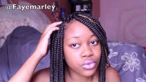 which takes longer to do box braids or senegalese how to take care of your box braids youtube