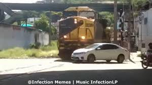 Train Meme - car get s hit by a train thomas the tank engine dank meme youtube