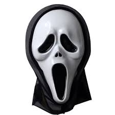 opening mouth u0026 long tongue scream ghost scary face mask halloween