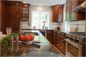 what backsplash looks with cherry cabinets cherry cabinets archives kitchens