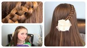 hairstyles youtube 4 strand slide up braid cute girls hairstyles youtube