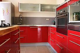cuisine bordeaux et blanc carrelage cuisine faience salle de bain et blanc