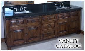 Tuscan Bathroom Vanity by Spanish Bathroom Vanity Mesquite Bathroom Vanities Rustic Vanities