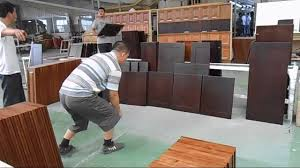 Kitchen Cabinet Factory Cabinet Finishing Inspection In Cabinet Factory Youtube