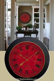 Small Decorative Wall Clocks 28 Best Red Clocks Images On Pinterest Large Wall Clocks Red