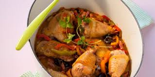 recettes cuisine actuelle poulet sauté aux poivrons facile et pas cher recette sur cuisine