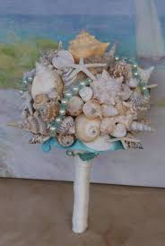 seashell bouquet seashell wedding bouquet