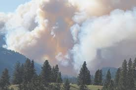 Wildfire Bc Satellite by Update Princeton Fire Holds At 1 500 Hectares Penticton Western