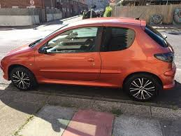 peugeot gti 2 0 2001 manual petrol orange lovely car 480 in
