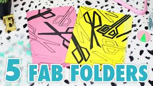 diy 5 graphic folder designs hgtv handmade