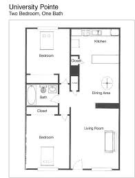 two bed two bath floor plans bungalow house floor plan with 2 bedrooms house decorations