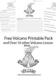 131 best home education volcanoes images on pinterest earth
