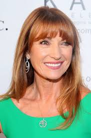 long hairstyles for women over 60 with bangs jane seymour long straight hairstyle with bangs for women over 60