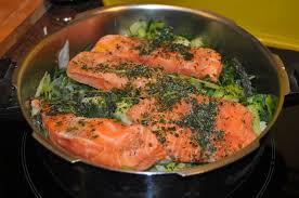recette saumon poireau et coriandre cook chik ou la cuisine d