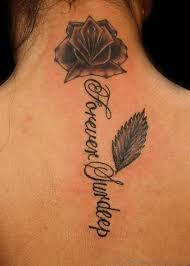 55 beautiful flower tattoos on nape