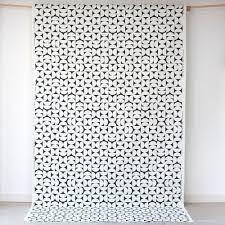 scandinavian fabric siv black by spira of sweden hus u0026 hem