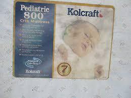 Kolcraft Pediatric 800 Crib And Toddler Mattress Crib Mattress Kolcraft Pediatric 800 20 00 Picclick