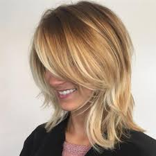 putting layers in shoulder length hair 70 brightest medium length layered haircuts and hairstyles