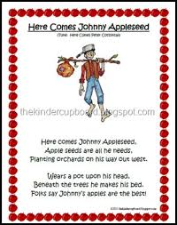 best 25 johnny appleseed song ideas on johnny songs