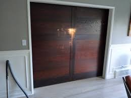 Sliding Closet Doors Wood Solid Wood Sliding Closet Doors