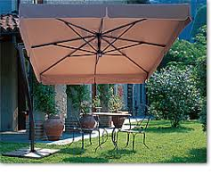 Offset Patio Umbrella With Base Side Post Patio Umbrellas