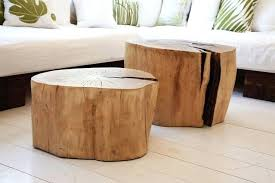 how to make a tree stump table tree stump coffee table tree stump side table tree stump side table