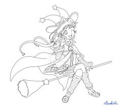 anime witch coloring pages anime witch coloring pages coloring