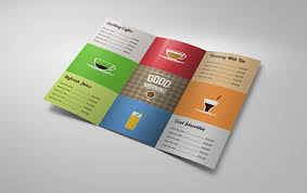 brochure templates ai free brochure template ai 10 awesome coffee shop brochure templates for