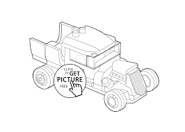 old car coloring page for kids printable free lego coloring page