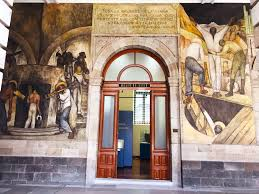 alicelaramore writing is thinking these murals often begin with the roots of a culture whether they be figurative or literal for example the st peter s mural which actually reads right