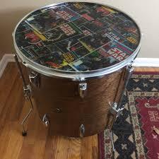 bass drum coffee table home decorating interior design bath