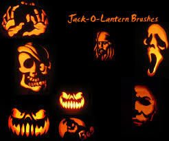 jack o lantern brushes by kaiprincess on deviantart