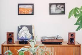 Bookshelf Speaker Design The Fremont Walnut U0026 White Bookshelf Speakers By Romantic